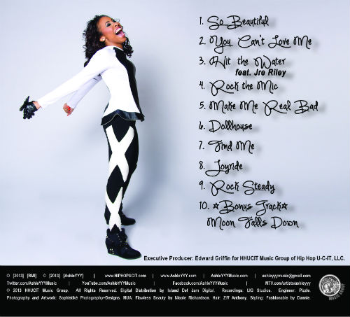 AshleYYY - Triple Threat - Tracklisting