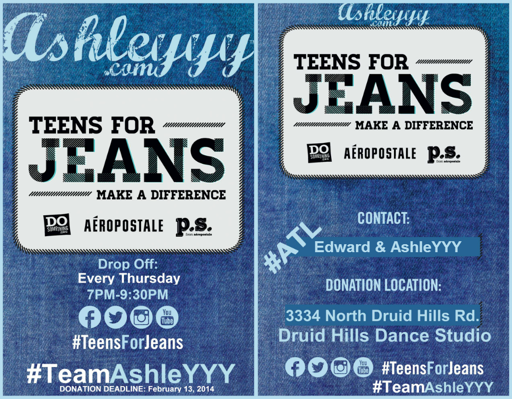 AshleYYY - Teens For Jeans - ATL