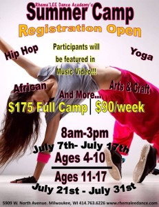 Rhema'LEE Dance Camp