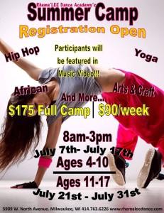 Rhema'LEE Dance Camp